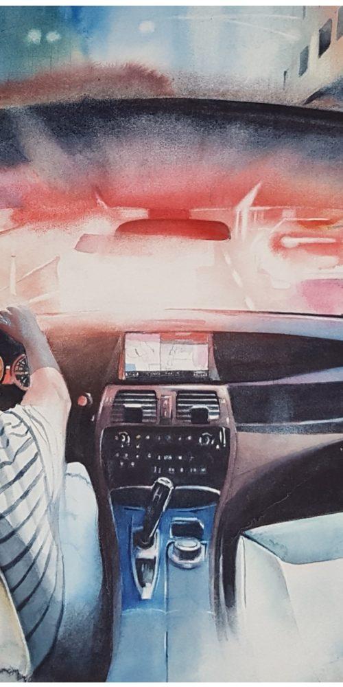 Dans ma voiture