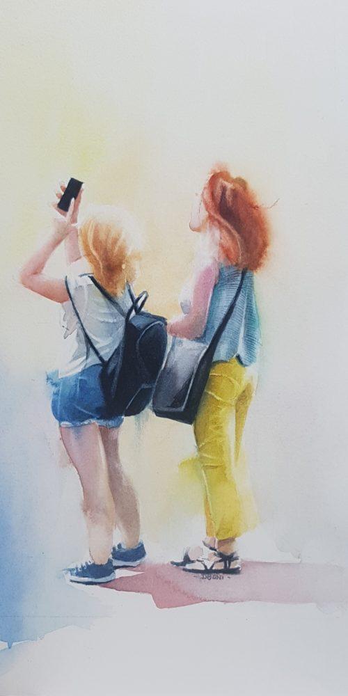 Selfie 1 ( série mœurs et coutumes)